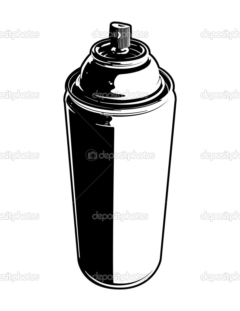vector spray can stock vector jrmurray76 9211297 rh depositphotos com spray can vector free download graffiti spray can vector
