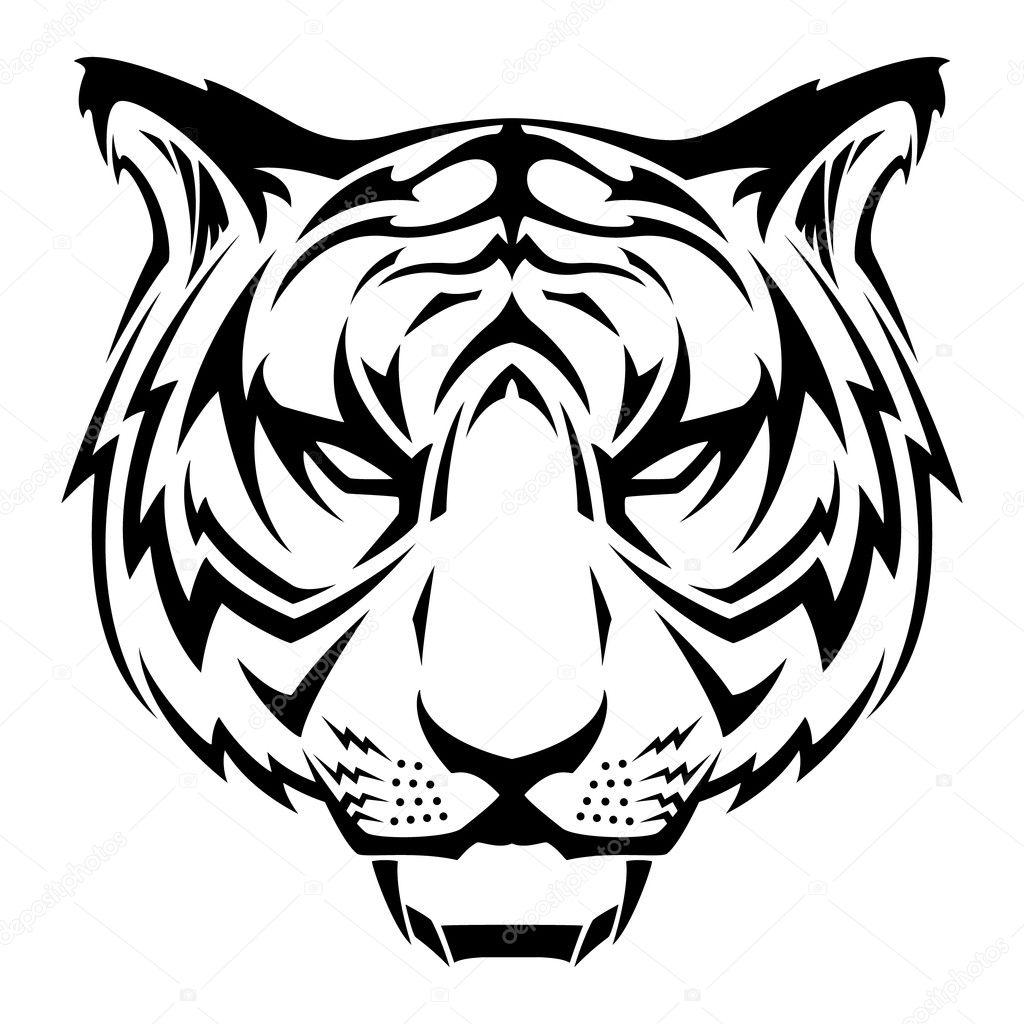 tribal tiger designs -
