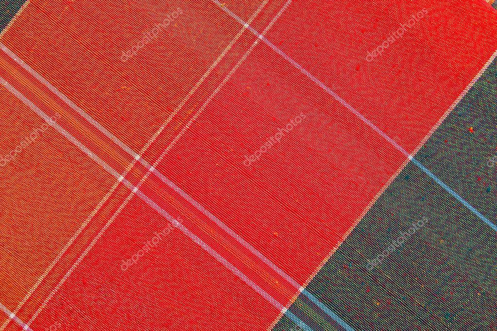 Hand made fabric pattern