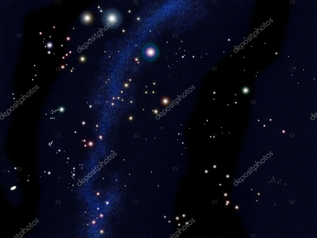South sky star chart