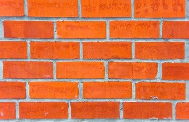 Red brick wall stock vector