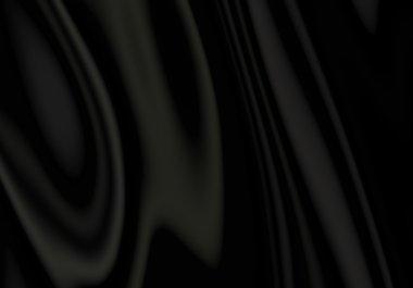 Black Satin Cloth Background