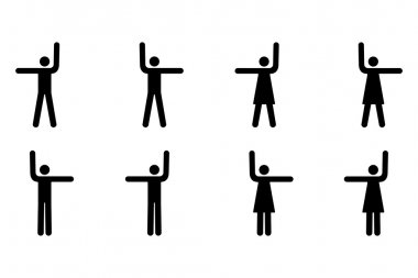 Stop and Go Pictograms