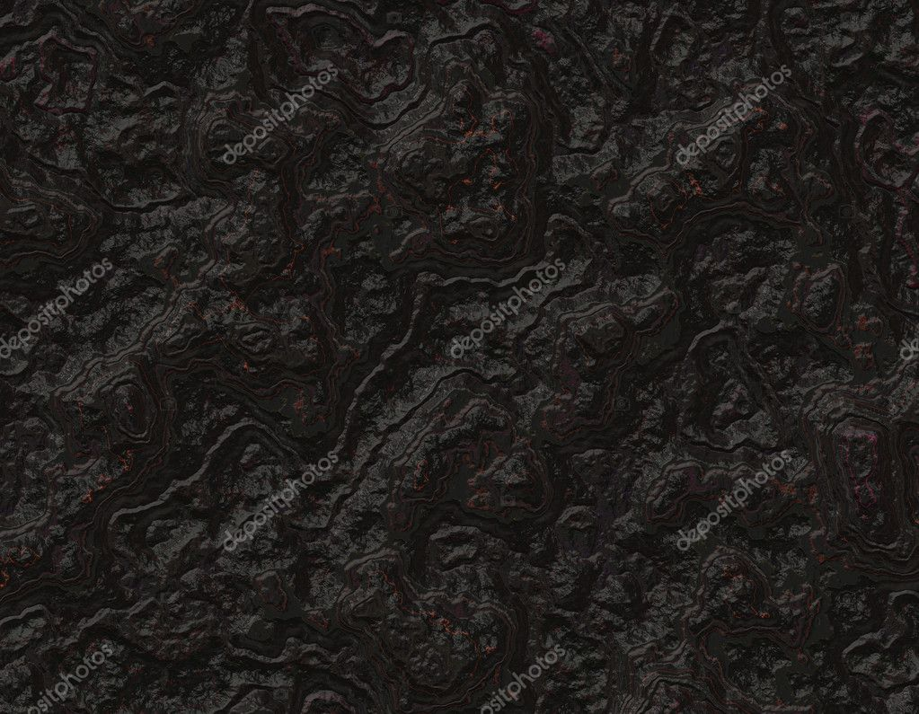 pitch black rock background texture � stock photo