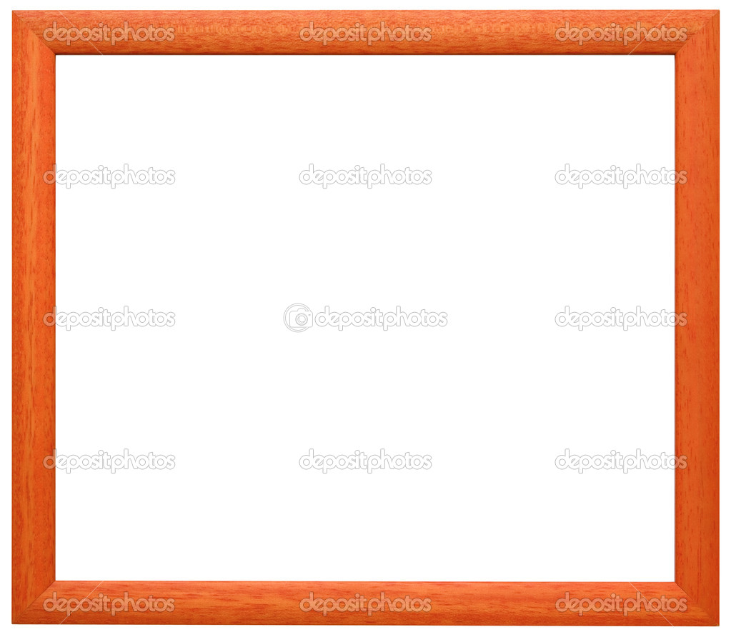 Orange Rahmen Ausschnitt — Stockfoto © Suljo #9234434