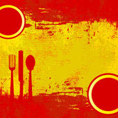 Spanyol menü sablon