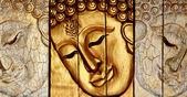 traditionelle Buddhas im thailändischen Stil