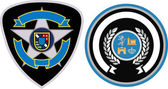 Emblem badge set