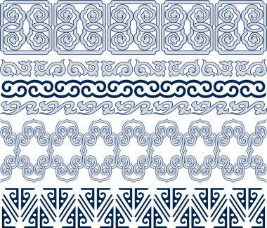 Oriental traditional pattern