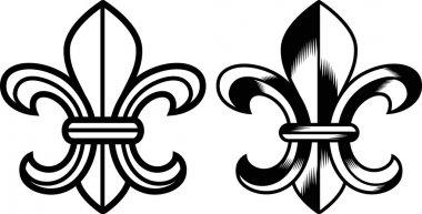Fleur de lis clip art vector