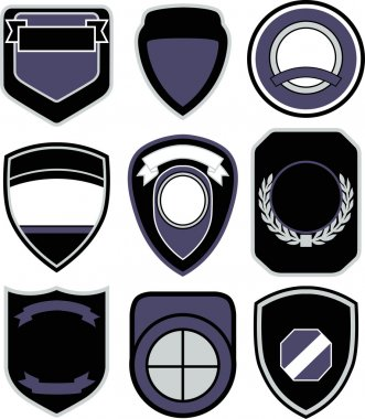 Emblem badge shape icon