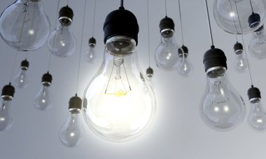 Light Bulb - Switched On