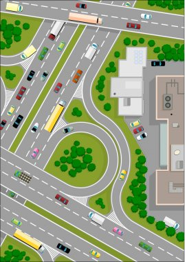 Highway intersection