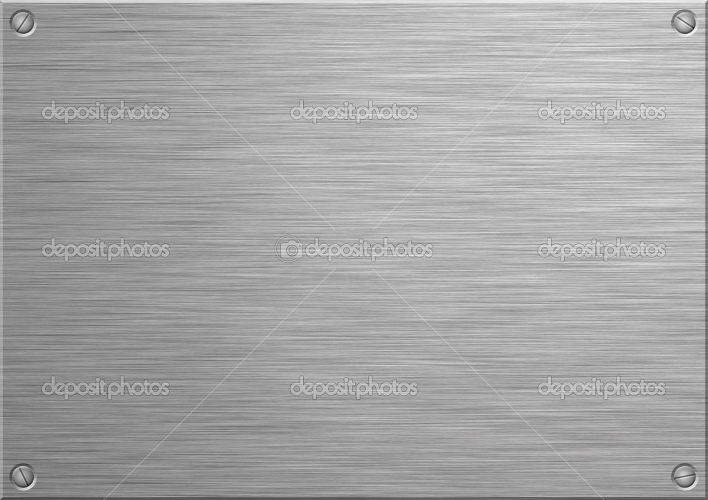 2dca194f92 A szálcsiszolt rozsdamentes acél panel saját gravírozott szöveg hozzáadása.  A4-es papírméretre — Fotó szerzőtől ...