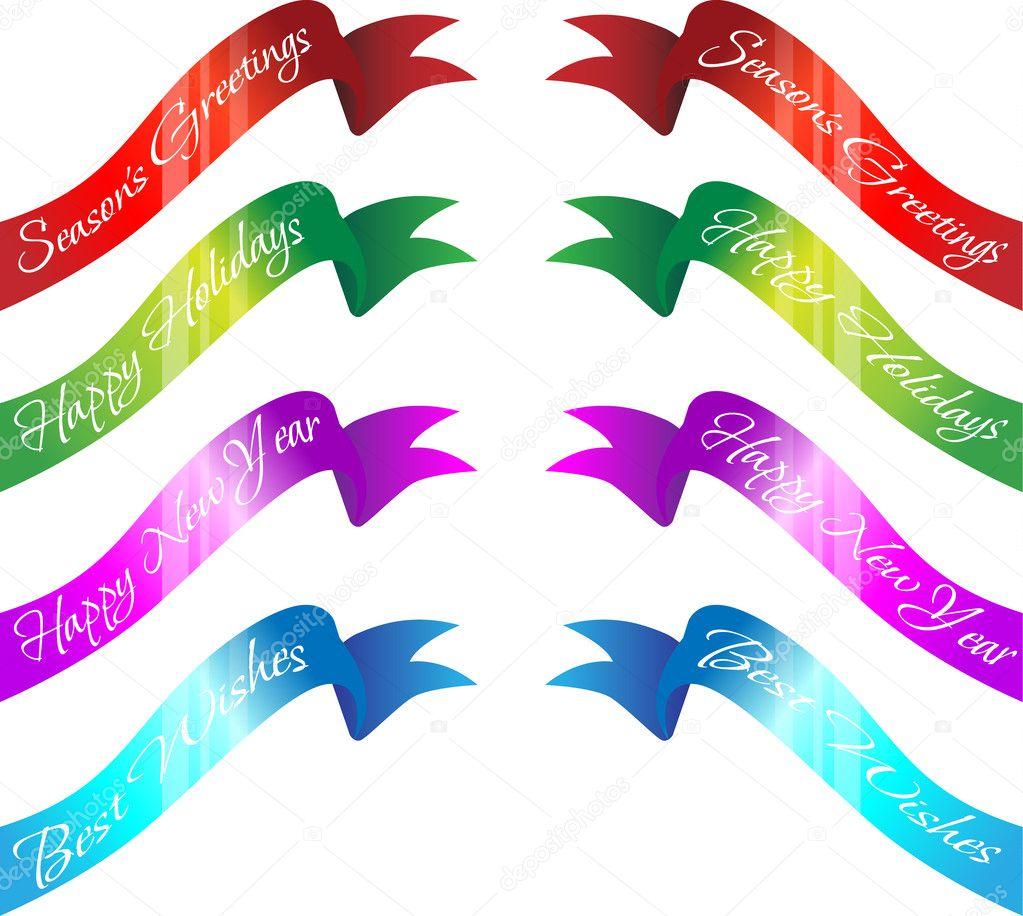 Seasons greetings banners stock vector lanan 9221529 seasons greetings banners stock vector kristyandbryce Choice Image