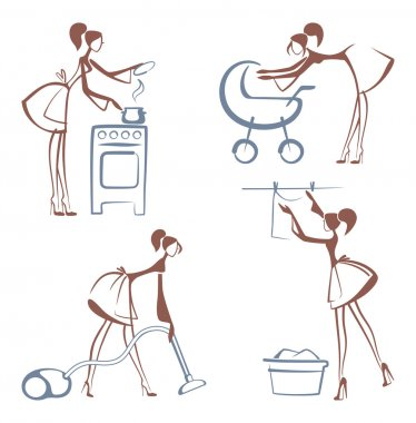 House Chores symbols