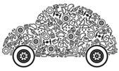 Fotografie Autos und Ersatzteile