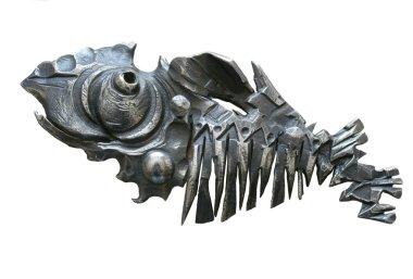 Wrought-iron sculpture