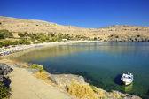 Lindos na ostrově Rhodos
