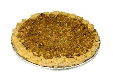 Crumb top apple pie
