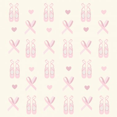 Ballerina shoes background