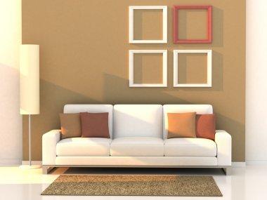 Living room, modern room