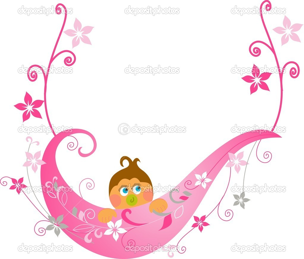 Baby Shower Greeting Card U2014 Vector By Muge35