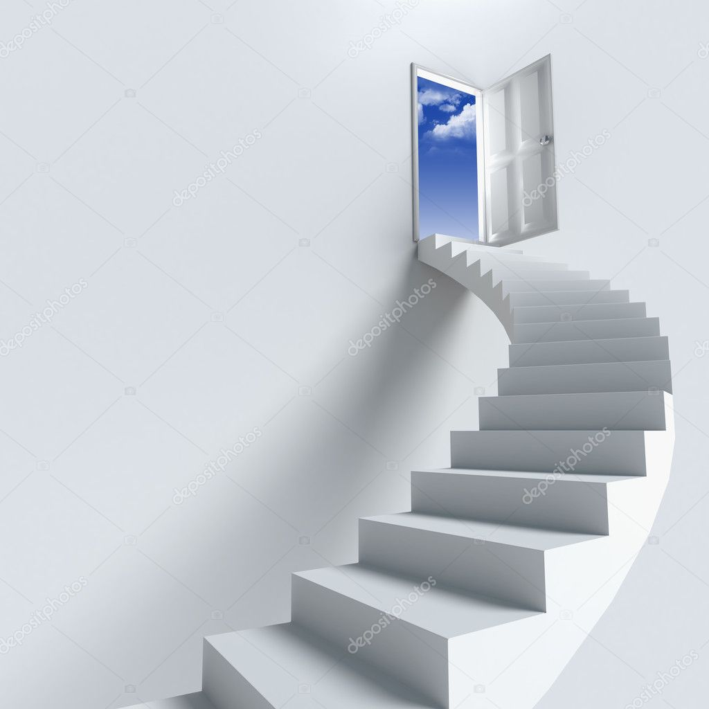 Stairway Or Opportunity For Success