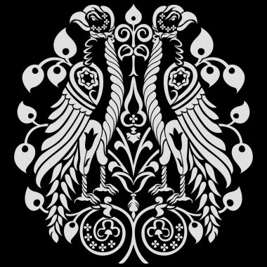 Heraldic Eagles Decoration