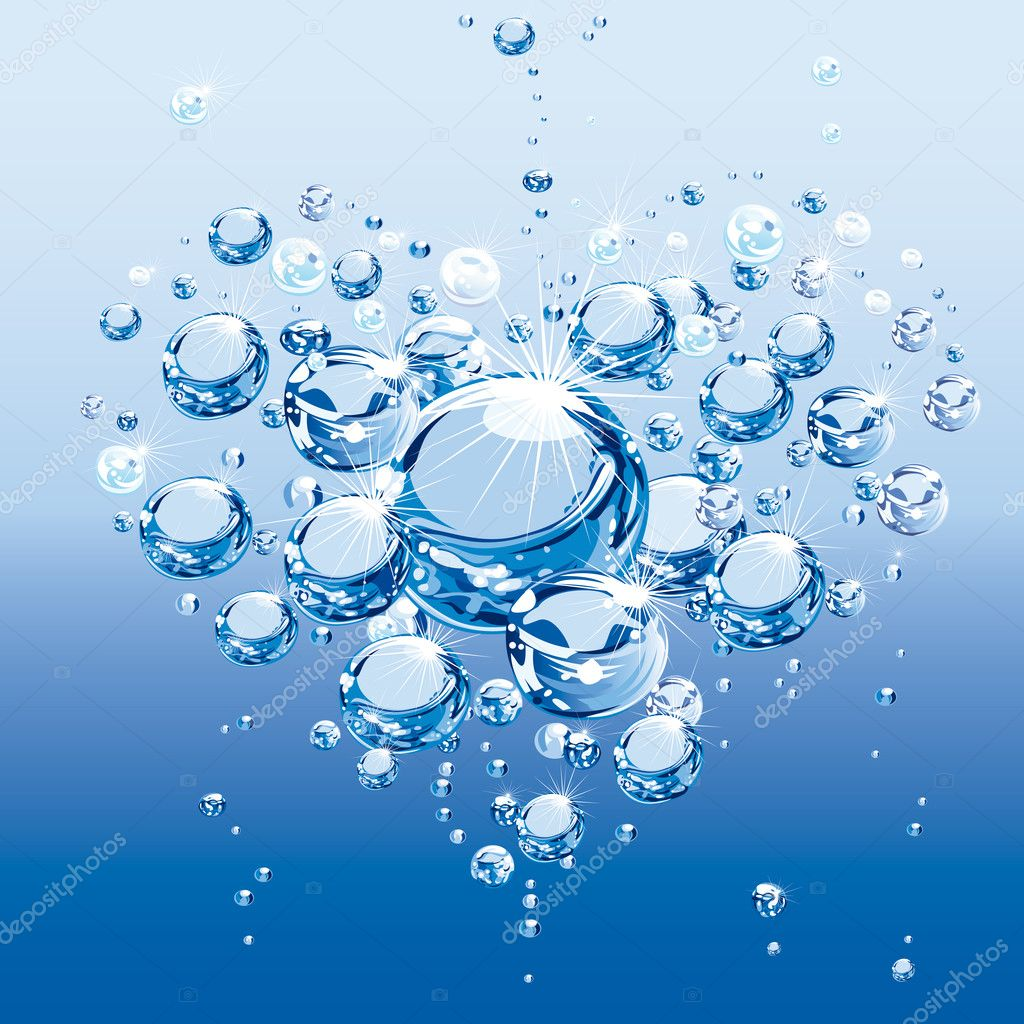 Water Love Bubbles