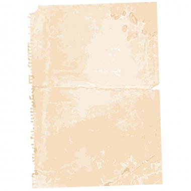 Torn Old Paper Page Background
