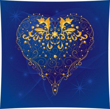 Gold Decor Heart