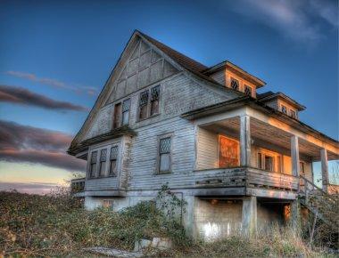Eerie Abandoned House