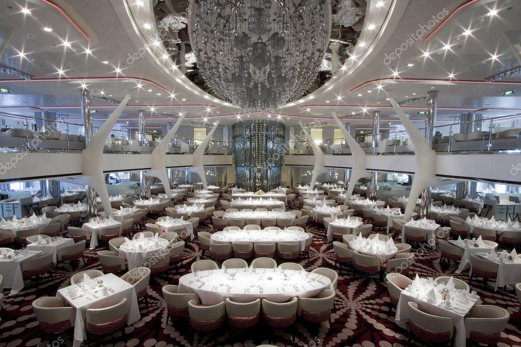 Cruise Ship Dining Room Stock Photo 169 Kacpura 9384043