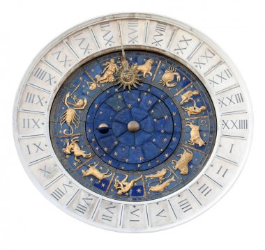 St Marks Astronomical Clock - Isolated
