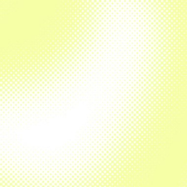 Abstract yellow halftone vector background