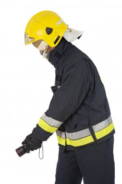 Fireman extinguishing the fire fireman extinguishing the fire fi