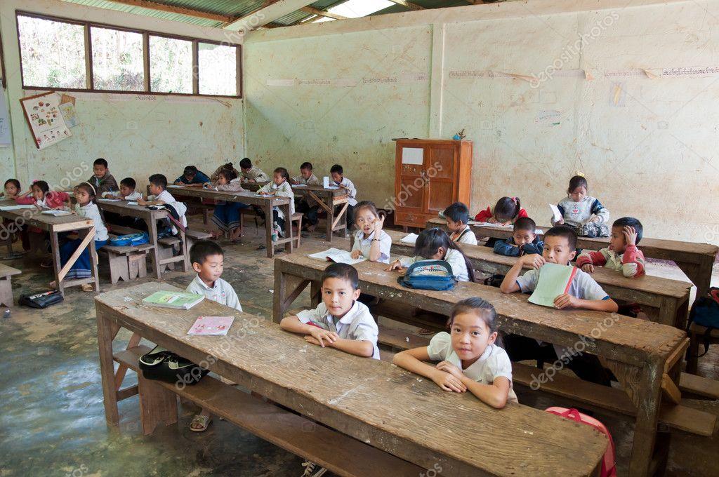 Laotian Schoolchildren