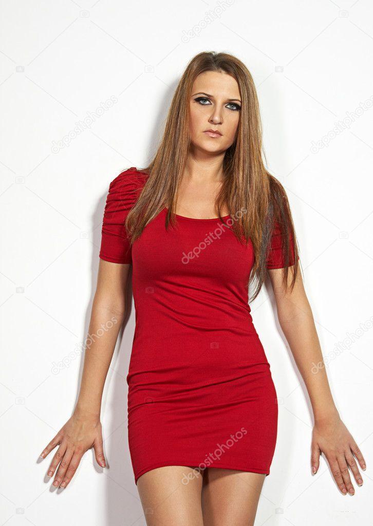 c65211c83e5 όμορφη σέξι γυναίκα στα 30 — Φωτογραφία Αρχείου © ninann #9319310