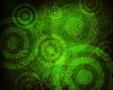 Grunge circles stock vector