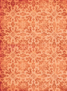 Red vintage textured wallpaper, perfect grunge background stock vector