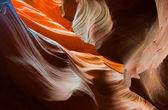 Fotografie abstact obrazce antelope canyon, arizona, usa