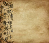 Fotografie grunge pozadí s hroznovou, ideální vzor pro vinný lístek