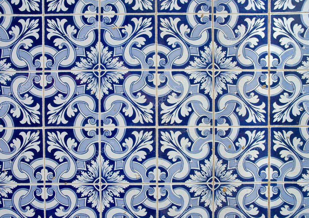 Azulejos portugueses antigo fundo de azulejos fotografias de stock javarman 9530648 - Azulejos portugueses comprar ...