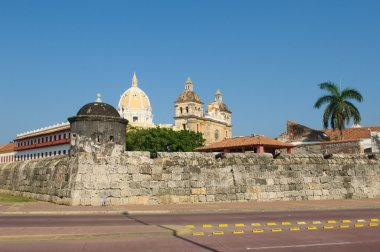 Walled town of Cartagena, Colombia