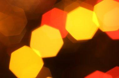 Christmas blured lights
