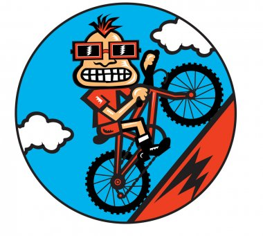 Mountain Bike Character