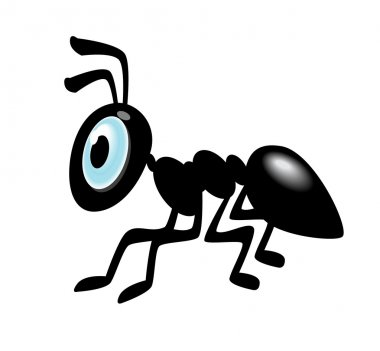 Ant Cartoon Icon