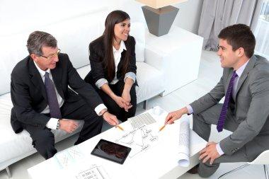 Business sharing ideas.