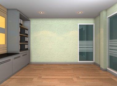 Empty office room